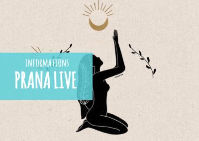 Votre studio de yoga virtuel ~ PRANA LIVE
