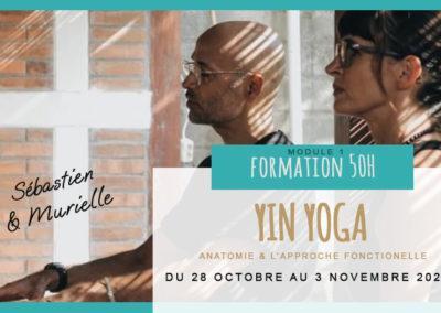 Formation de professeur de Yin Yoga 50 heures Module 1 Anatomie & L'approche Fonctionnelle